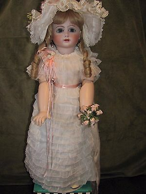 "Antique Reproduction ~ 26""  A 14 T Doll by Artist Colleen Phillips/1986"