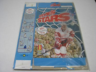 Steve Yzerman Stevie's Stars Cereal Boxes Opened Qty 4
