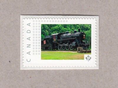 TRAIN, STEAM LOCOMOTIVE Unique Picture Postage stamp Canada 2017 p17-02sn2