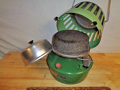 Vintage 1968 Coleman Super Catalytic Heater - Avocado - 3K to 5K BTU - 513A078