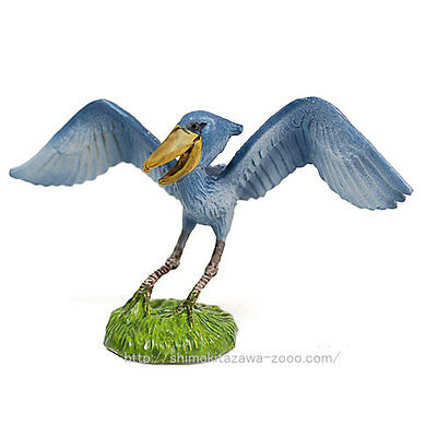 Eikoh Miniature Planet ONLY both shoebills ONLY animal PVC figure JAPAN new