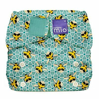 Bambino Mio Miosolo All-In-One Reusable Nappy Onesize Bumble * Brand New *