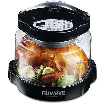 New Nuwave Digital Pro Plus Model 20621 Infrared Counter Top Oven + Recipes Etc