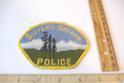 ~Sisters Police~Oregon~Fabric Patch~