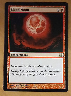 1x Blood Moon - Modern Masters NM MTG