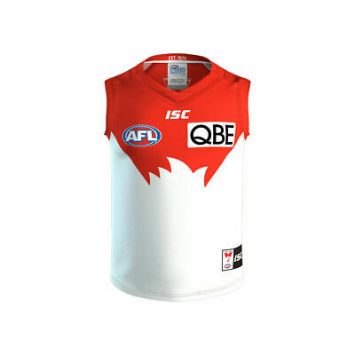 Sydney Swans AFL 2017 Home ISC Guernsey Adults, Kids & Toddlers All Sizes!