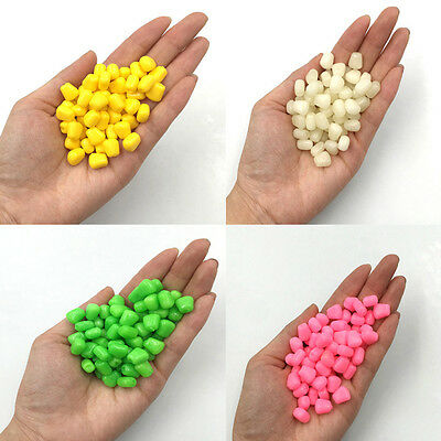 50Pcs Pop up Softs Corn Floating Baits Coarse Carp Fishing Lures Tool 4 Color