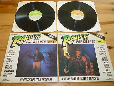 RAIDERS OF THE POP CHARTS 1980s COMPILATION ALBUM / LP / VINYL / RECORD / 33rpm
