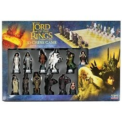 Lord of The Rings Chess set with 3D Characters