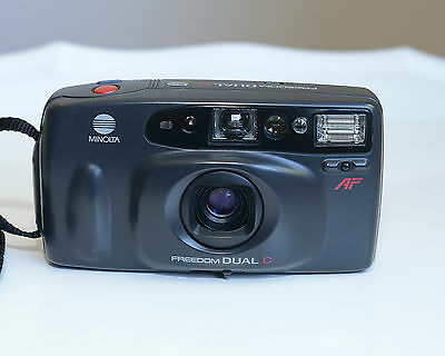 Minolta Dual C Freedom Compact 35mm Film Camera in Excellent Condition, 1826
