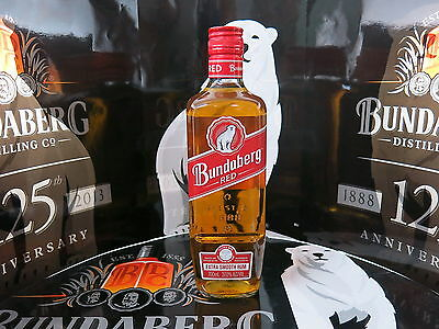 Bundaberg Rum Red Old Label 700Ml 2009 Label 1St Red Released 2 Stripe Capsule