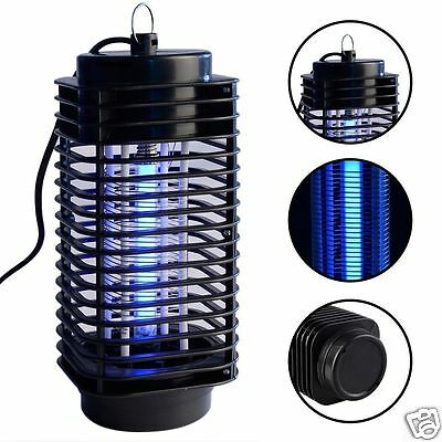 US/EU Plug Electric Mosquito Killer Insect Fly Bug LED Light Zapper Repeller