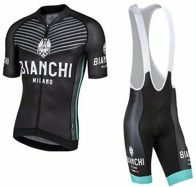 Completo ciclismo estivo Cycling Jersey and pants 2017 Team Nero
