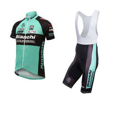 Completo ciclismo estivo Cycling Jersey and pants 2017 Team Bianchi