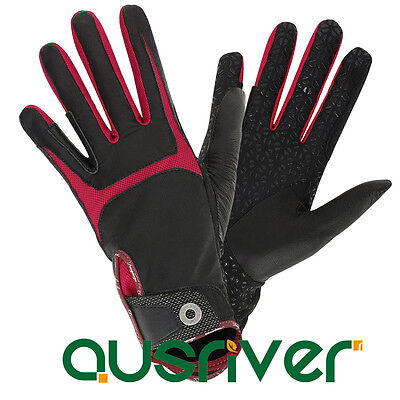 Horse Riding Competition Gloves Adult Sheepskin Riding Gloves