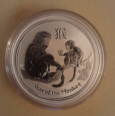 Year of the Monkey - 2016 - 1oz - 999 Silver Round - Perth Mint Lunar Series