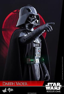 Star Wars Rogue One Darth Vader Sixth Scale Figure Hot Toys MMS 388 Sideshow