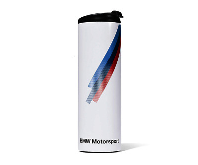 BMW Genuine Motorsport Collection Emblem Thermo Mug Stainless Steel 450ml White