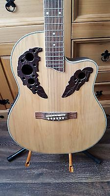 Semi Acoustic Round Back Gear 4 Music Guitar