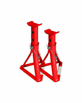 2 Ton Tonne Heavy Duty Car Caravan Vehicle Axle Stands Stand Trolley