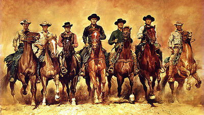 MAGNIFICENT SEVEN - - Print