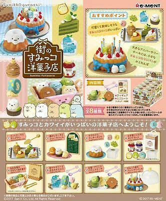 New Re-Ment Miniature Sumikko Patisserie Candy Shop Set Full set of 8