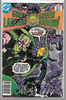 GREEN LANTERN 98 SIGNED BY DENNIS O'NEIL GREEN ARROW Black Canary Katma Tui DC