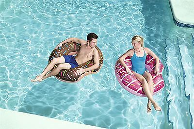 Bestway Inflatable Donut Lounger Tube Float Beach Swimming Pool - 1.07m / 42""