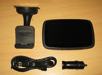 """TomTom Go 500 5"""" Touch Screen Sat Nav GPS with Western Europe Maps inc UK & ROI"""