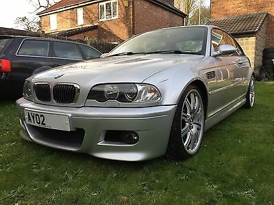 Excellent low mileage 6 Speed manual BMW E46 M3 Coupe non-sunroof model CS CSL