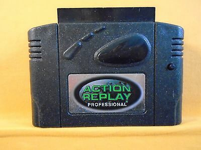 N64 ACTION REPLAY PROFESSIONAL Cheat Cartridge Datel Game Enhancer/Cheats PRO