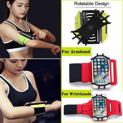 Universal Sports Running Jogging Armband/Wristbands Case Samsung S8+ iPhone 7 6s