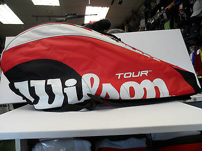 Wilson 6/8Tennis Racket Carry Bag