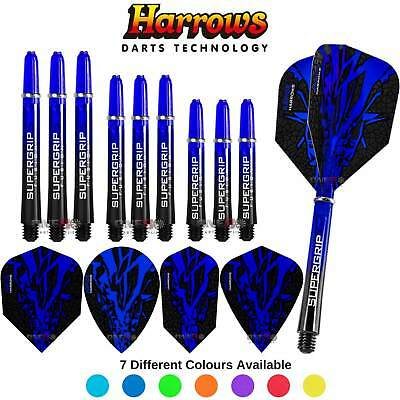 Harrows Rapide-X Combo Pack,Dart Flights Shafts, Darts Accessories,Choose Colour