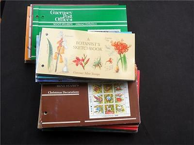 11964aj  GUERNSEY & ALDERNEY PRESENTATION PACKS COLLECTION - THEMATICS ??