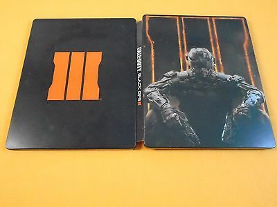 CALL OF DUTY BLACK OPS III Steelbook Case ONLY (G2 SIZE PS3 PS4 Xbox One)