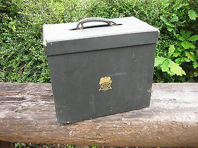 Vintage Lincoln Bennett Travel Hat Box ~ Top Hat Box ~ Chapman's Patent Case