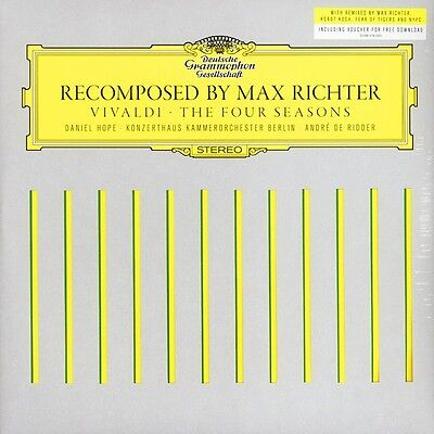 Recomposed By Max Richter - Vivaldi - The Four Seasons - 2 x Vinyl LP *NEW*