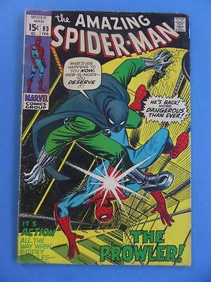 Amazing Spider-Man 93 The Prowler