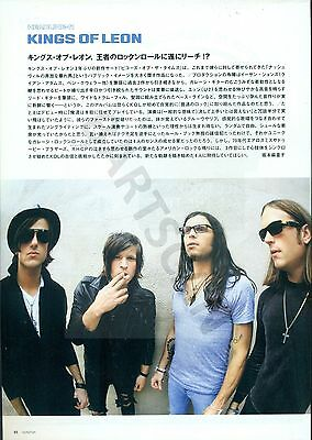 Kings Of Leon - Clippings From Japanese Magazine Rockin'on 2007
