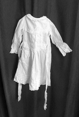 Antique Cotton Christening Frock