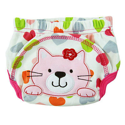 Boy Girl Training Pants Kitty Toilet Potty Training Underwear 24-35lbs