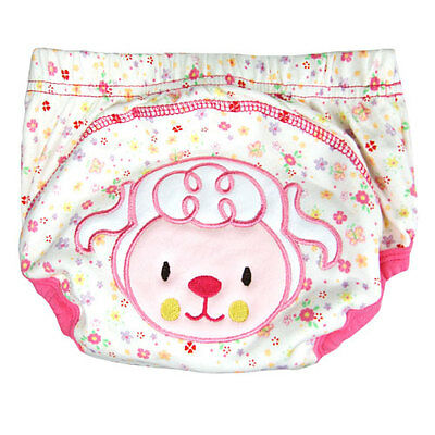 Boy Girl Training Pants Little Sheep Toilet Potty Training Underwear 24-29lbs