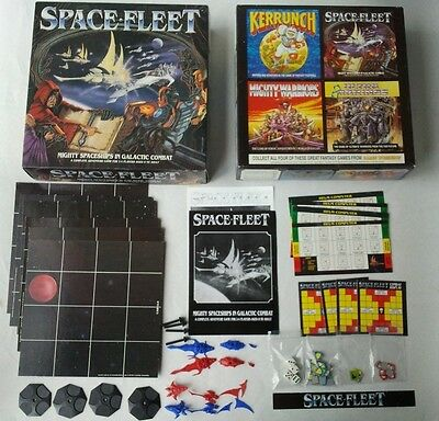 SPACE FLEET Board Game - Games Workshop Battlefleet Gothic Warhammer 40k