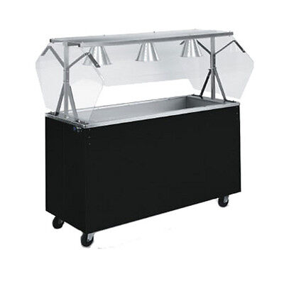 """Vollrath 3877760 60"""" Affordable Portable Storage Base Cold Food Station (Cherry)"""