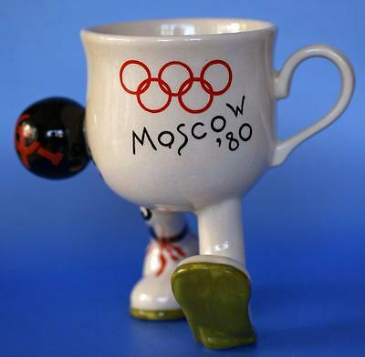 Carlton Ware Walking Cup  Moscow Russian Olympics 1980 Limited Edition