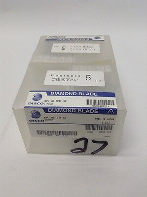 Disco Blade Diamond Dicing Saw Adt Nbc-Zh 104F-Se Kns Silicon Cutting Nbc Blade