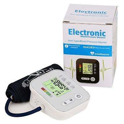 Automatic Digital Arm Blood Pressure Portable Heart Meter Monitor 99 Memory