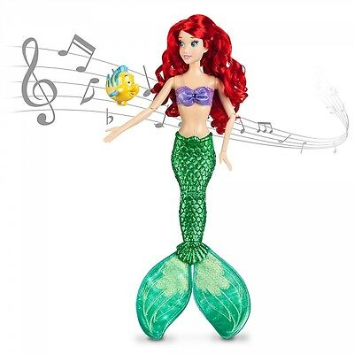 Ariel Deluxe Feature Singing Doll - 18'' H