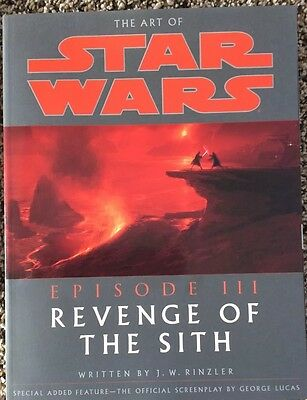 The Art Of Star Wars Revenge Of The Sith – – New, Signed By Author!